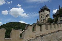 Karlstejn slott Royaltyfri Bild