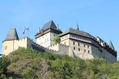 Karlstejn slott Royaltyfri Foto
