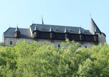 Karlstejn slott Arkivbild