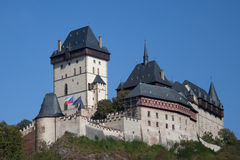Karlstejn on sunny day Royalty Free Stock Photo