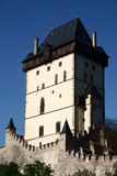 Karlstejn tower Royalty Free Stock Photos