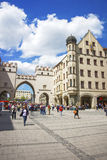 Karlstor fortress gate in Munich Royalty Free Stock Images