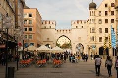 Karlstor Gate & Karlsplatz Square. Munich. Germany Royalty Free Stock Image
