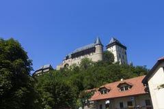 Karlštejn Castle Royalty Free Stock Photo