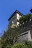 Karlštejn Castle tower Royalty Free Stock Images