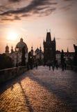 karluv моста большинств prague Стоковые Изображения