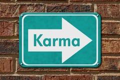 Karma Sign Stock Photo