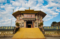 Karma Theckling monastery in Sikkim Stock Image