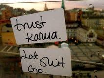 Karmas 1 Fotografia de Stock