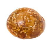 karmel sia słonecznikowych cukierki Obrazy Stock