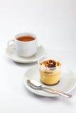 Karmelu pudding Fotografia Royalty Free