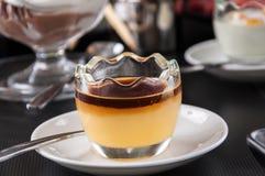 Karmelu pudding Obraz Royalty Free