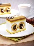 Karmelu tort z daktylow? owoc obraz royalty free