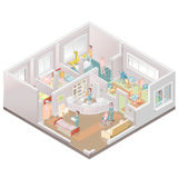 Karmiącego domu utrzymania łatwość Fotografia Stock