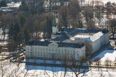 Karmiący dom w Salzburg Zdjęcie Royalty Free
