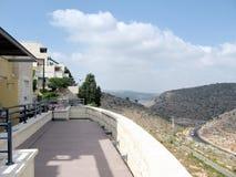 Karmiel hus på den Hativat Etsyoni gatan 2008 Royaltyfri Bild