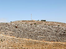 Karmiel stone hillside 2008. The stone hillside in Karmiel, Israel Royalty Free Stock Images