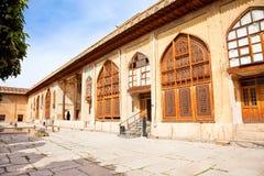 Karmin Khan citadel in Shiraz, Iran. Inside of Karmin Khan citadel in the city center of Shiraz, Iran stock image
