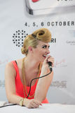 Karmin Press Conference Image stock