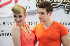 Karmin Press Conference Stock Photos
