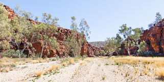 Karminrote Schlucht Australien Lizenzfreies Stockfoto