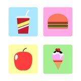 Karmowa ikona Zdjęcie Royalty Free
