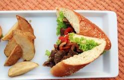 karmowa kanapka Zdjęcia Stock