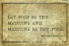 Karmowa medycyna Hippocrates Obrazy Royalty Free