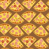 Karmowa pizza Zdjęcie Royalty Free