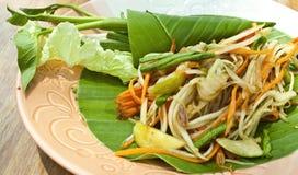 karmowego melonowa sałatkowy tajlandzki jarosz Zdjęcia Stock
