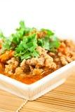 karmowego północnego wieprzowiny delicje tajlandzki pomidor Zdjęcia Stock