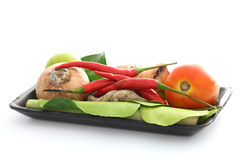 karmowego składnika kung tajlandzki Tom yum Zdjęcia Stock
