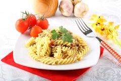karmowego włoskiego odżywczego risotto owoce morza smakowity tradycyjny Obrazy Stock