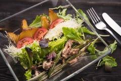 karmowi świezi japońscy sałatkowi warzywa Fotografia Royalty Free