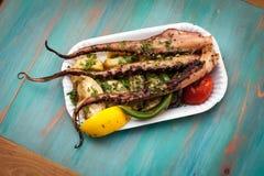 Karmowi cuttlefish Fotografia Royalty Free