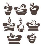 Karmowi symbole Zdjęcia Stock