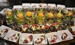 Karmowy catering Zdjęcie Stock