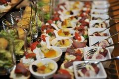 Karmowy catering Fotografia Royalty Free