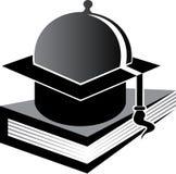 Karmowy edukacja logo Fotografia Royalty Free