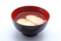 karmowy japoński oshiruko Zdjęcie Royalty Free