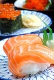 karmowy japoński suszi Zdjęcie Stock