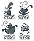 Karmowy logo Obraz Stock