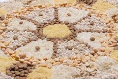 Karmowy mandala koło zdjęcie stock