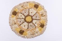 Karmowy mandala koło zdjęcie royalty free