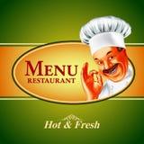 Karmowy menu Italy sztandar Ilustracja Wektor