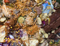 Karmowy odpady zdjęcie stock