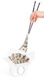 Karmowy pieniądze pojęcie wizerunek zdjęcie royalty free