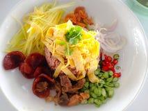 karmowy ryżowy tajlandzki Zdjęcia Stock