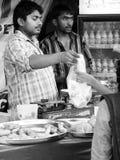 karmowy sprzedawca uliczny Fotografia Royalty Free