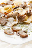 karmowy włoski tortellini Zdjęcia Stock
